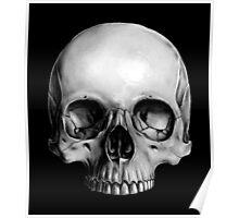 Half Skull Poster
