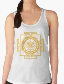 Shri Yantra - Cosmic Conductor of Energy Women's Tank Top