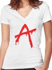 Pretty Little Liars - A Women's Fitted V-Neck T-Shirt