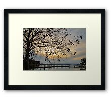 The Tree at the End of the World Framed Print