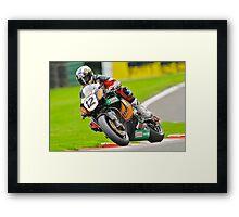 John McGuinness Framed Print