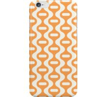 Orange Retro Wave iPhone Case/Skin