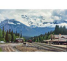 Banff Station, Alberta, Canada Photographic Print