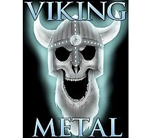 Viking Metal Photographic Print