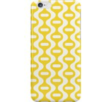 Yellow Retro Wave iPhone Case/Skin