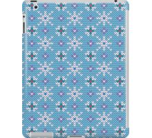 Knitted snowfall iPad Case/Skin