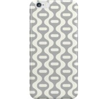 Grey Retro Wave iPhone Case/Skin