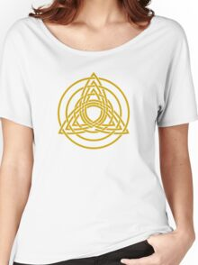 Triquetra, Germanic paganism, Celtic art,   Women's Relaxed Fit T-Shirt