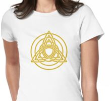Triquetra, Germanic paganism, Celtic art,   Womens Fitted T-Shirt