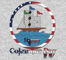 Happy Columbus Day by mike desolunk