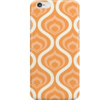 Orange Retro Waves iPhone Case/Skin