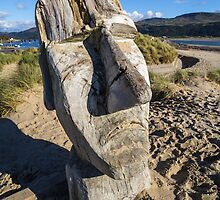 Kiki Dum Dum, Barmouth Beach, North Wales by Heidi Stewart