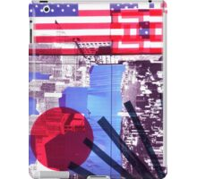 US and Japanese Flags iPad Case/Skin