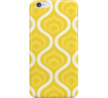 Yellow Retro Waves iPhone Case/Skin