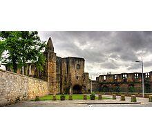 Dunfermline Abbey Gatehouse Photographic Print