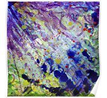 Transparent war of Color's V1 Poster