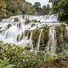 Krka Falls - Croatia by Robert Kelch, M.D.