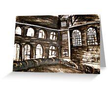 varndean courtyard Greeting Card
