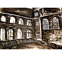 varndean courtyard Photographic Print