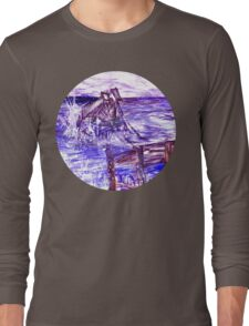 Stormy Brighton Long Sleeve T-Shirt