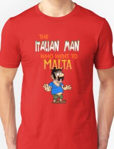 The Italian Man Who Went To Malta - Official T-Shirt  T-Shirt