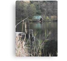 Autumn on Loch Ard Canvas Print