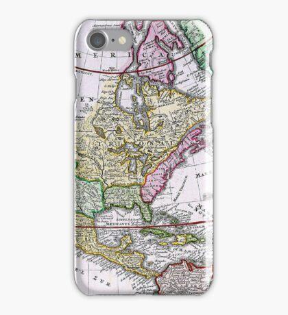 Vintage Map of America iPhone Case/Skin