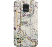 Vintage French Map of the Indies and Orient Circa 1677 Samsung Galaxy Case/Skin