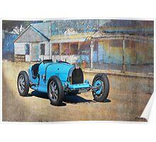 Bugatti T35A Poster
