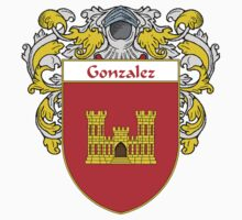 Gonzalez Coat of Arms/Family Crest by William Martin