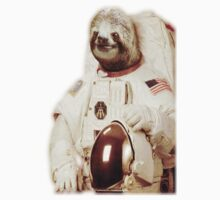 Sloth Astronaut by Slitter