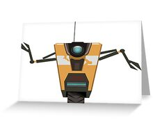 CL4P-TP Bot Greeting Card