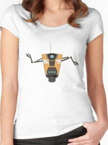CL4P-TP Bot Women's Fitted Scoop T-Shirt