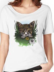 Calico Kitty Women's Relaxed Fit T-Shirt