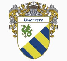 Guerrero Coat of Arms/Family Crest by William Martin