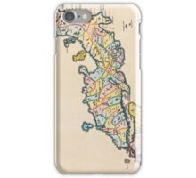 Vintage Antique Map of Japan Circa 1655 iPhone Case/Skin