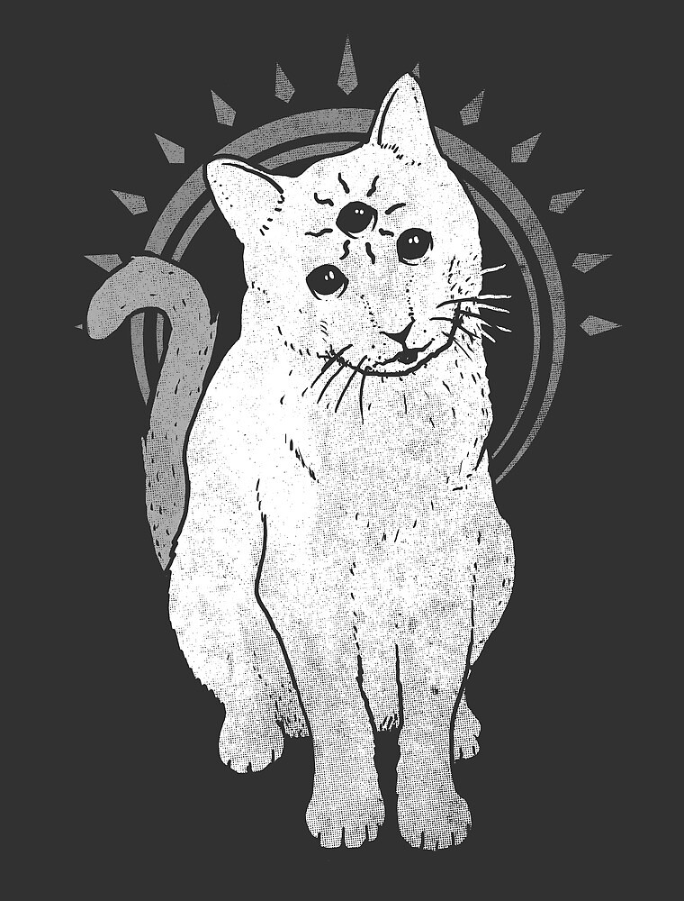 psychic Kitty 2  by Jonah Block
