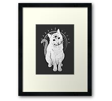 psychic Kitty 2  Framed Print