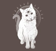 psychic Kitty 2  One Piece - Short Sleeve
