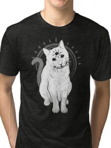psychic Kitty 2  Tri-blend T-Shirt