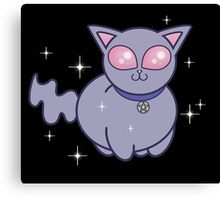 Wicca Kitten Canvas Print