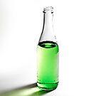 Green Bottle by Cara Merino