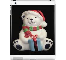 Christmas Bear with present iPad Case/Skin