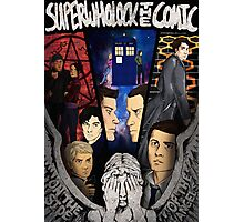 SuperWhoLock The Comic Official Poster Photographic Print