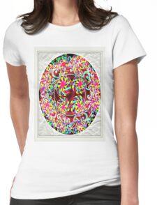 art nouveau Womens Fitted T-Shirt