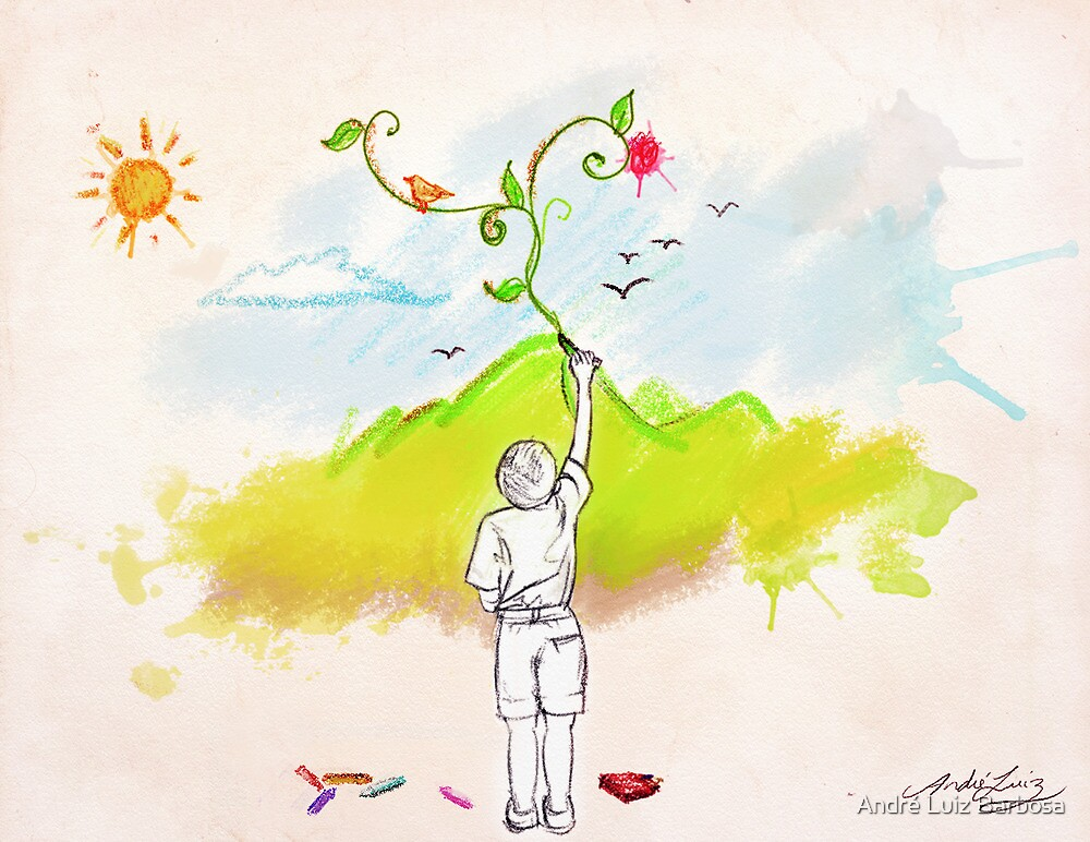 Every Child Is An Artist by André Luiz Barbosa