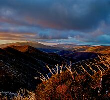 Mt Hotham Sunset by DavidsArt