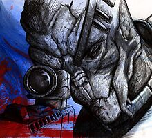 Garrus Vakarian - Second Thoughts by LazyMonkey