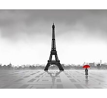 Paris (Vectorillustration) Photographic Print