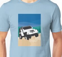 Jeep Wrangler in high country Unisex T-Shirt